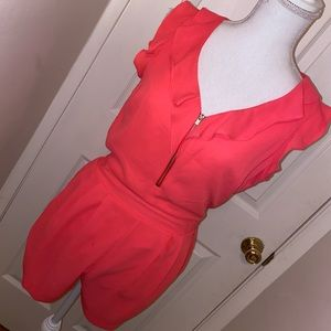 Hot pink like new express romper!